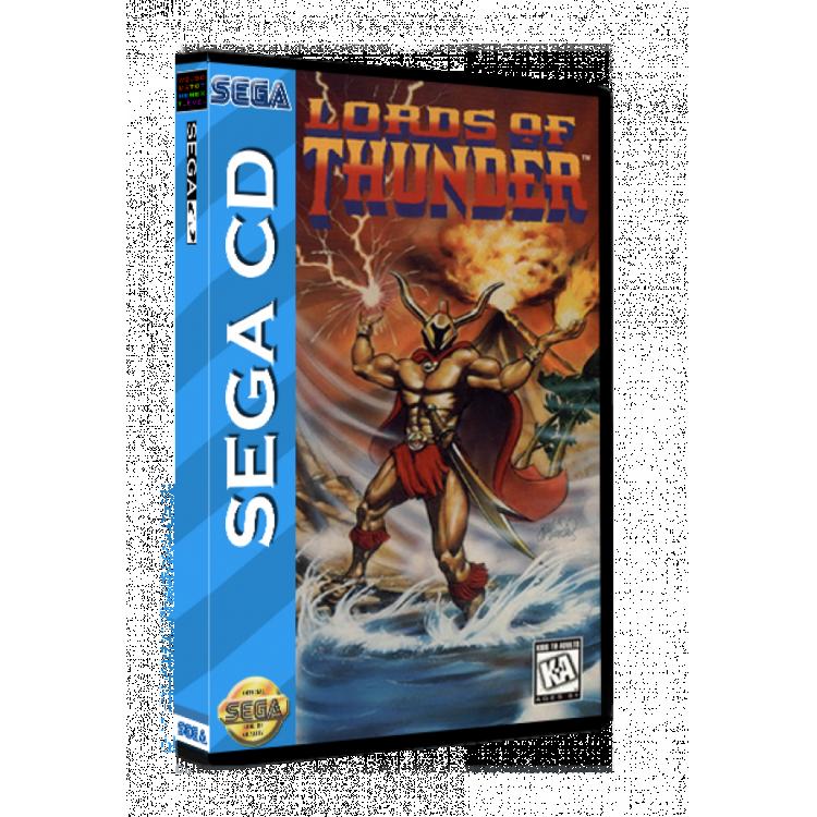 Sega CD Rom Lords of Thunder