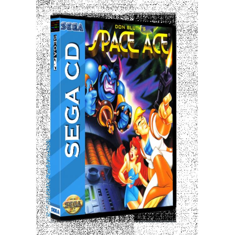Sega CD Rom Space Ace
