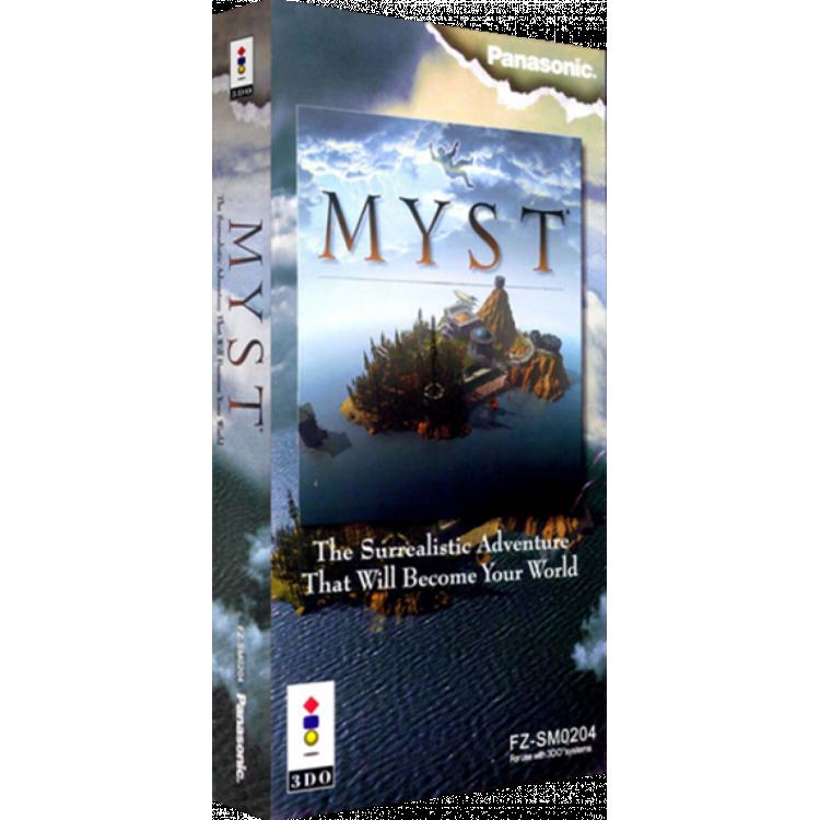 Myst Panasonic 3do Cd Rom