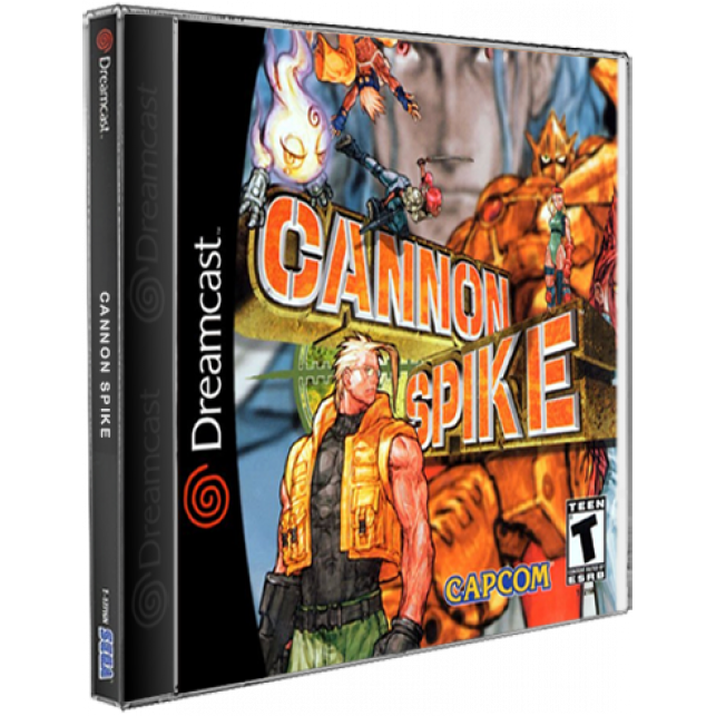 Cannon Spike DreamCast CD Rom