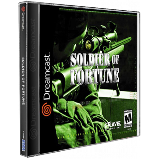 Soldier of Fortune Sega DreamCast CD Rom