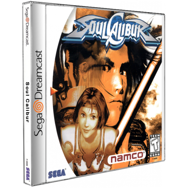 Soul Calibur Sega DreamCast CD Rom