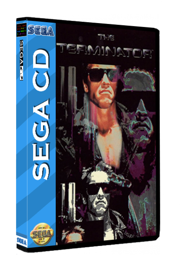 Sega CD Rom Terminator