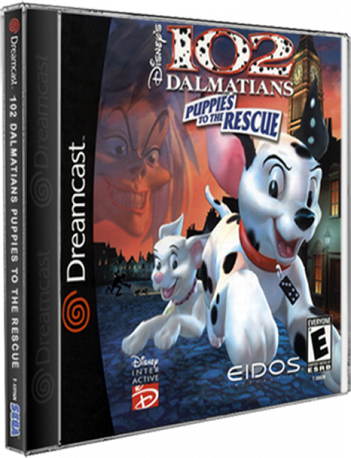102 Dalmatians - Puppies to the Rescue DreamCast CD Rom